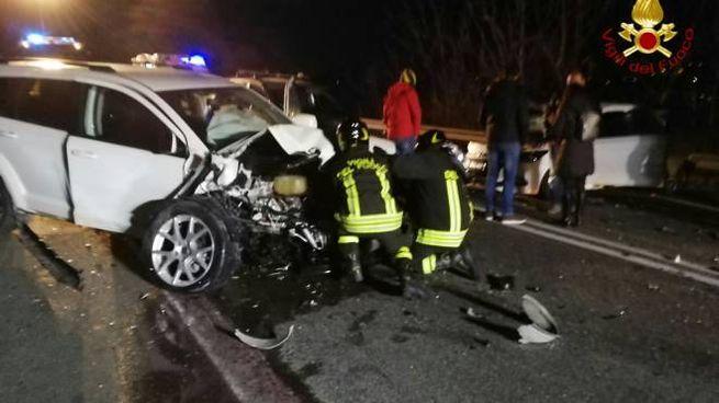 La scena dell'incidente di Gubbio