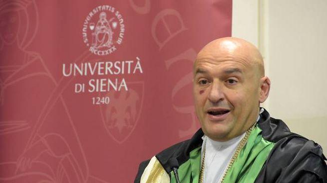 Il rettore dell'Università di Siena, Francesco Frati