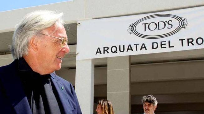 Della Valle visita la Tod's (Foto Labolognese)