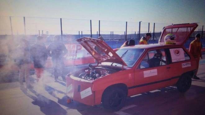 L'auto utilizzata per il test