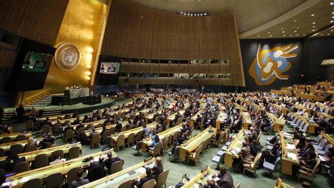 L'Assemblea Generale Onu (Ansa)