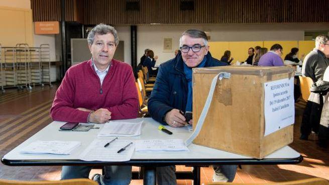Alfredo Romanò e Maurizio Fraschini sono i delegati Fiom Cgil Italtel