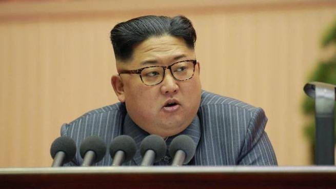 Kim Jong Un (Ansa)