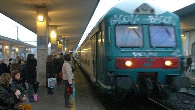 Convoglio Trenord a Monza