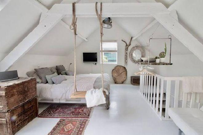 Trasformare la mansarda in una camera da letto - Tempo ...