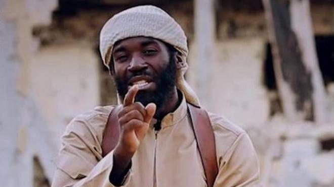 Il miliziano sunnita Abu Salih al-Amriki (Ansa)