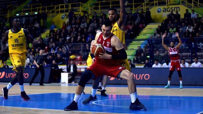 Dane Diliegro, il migliore in campo dei forlivesi (Fantini)