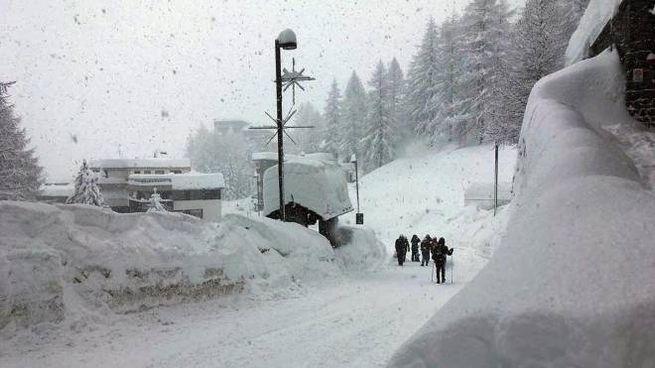 Previsioni meteo: ancora neve. Nella foto Cervinia il 4 gennaio scorso (Ansa, Instagram)
