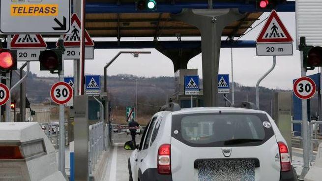 Casello in autostrada (foto Germogli)