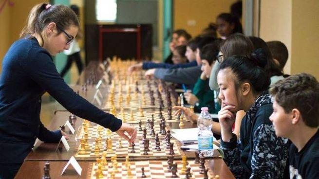 Elisa Cassi durante una partita