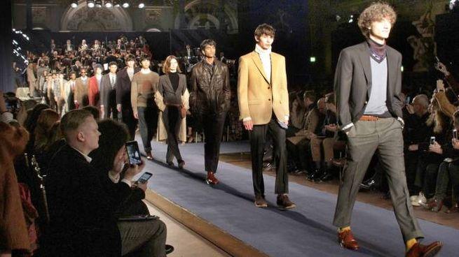 La sfilata Brooks Brothers per Pitti Uomo a Palazzo Vecchio (Pressphoto)