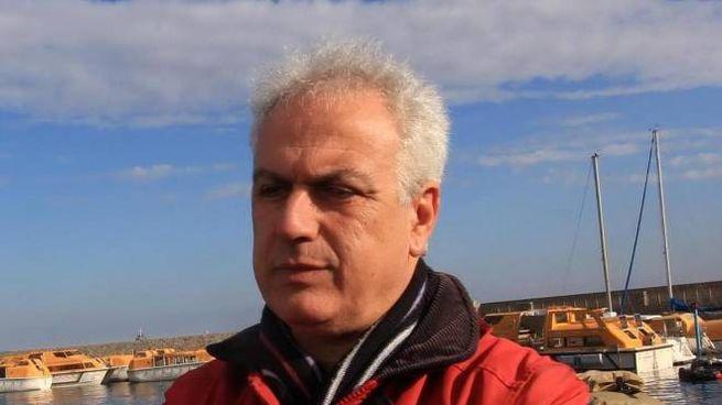 Il sindaco dell'isola del Giglio Sergio Ortelli