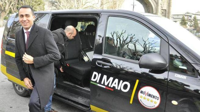 Luigi Di Maio in tour pre-elettorale in Piemonte e Val d'Aosta (Ansa)