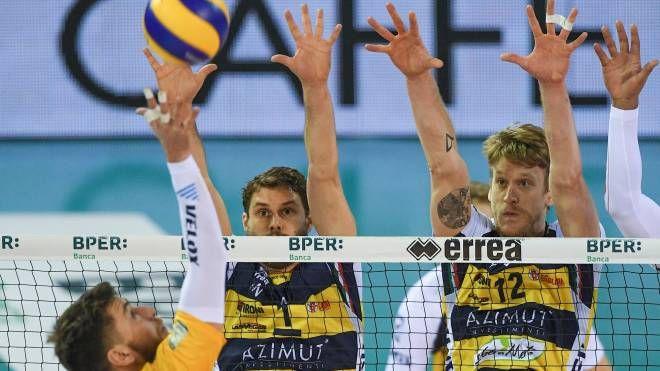 Azimut vs Calzedoni: Bruno e Holt (foto Fiocchi)