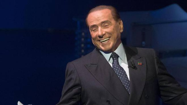 Silvio Berlusconi, leader di 'Forza Italia' (Foto Ansa)