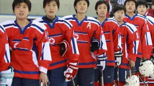 Alcune giocatrici nordcoreane