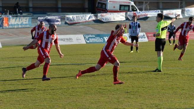 Netta vittoria per il Forlì (foto Fantini)
