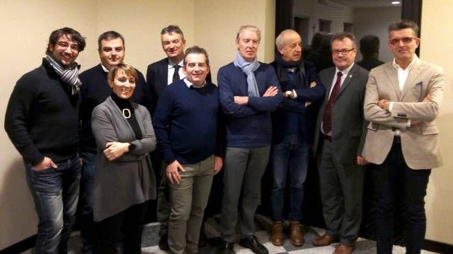Il nutrito gruppo di relatori e organizzatori del convegno
