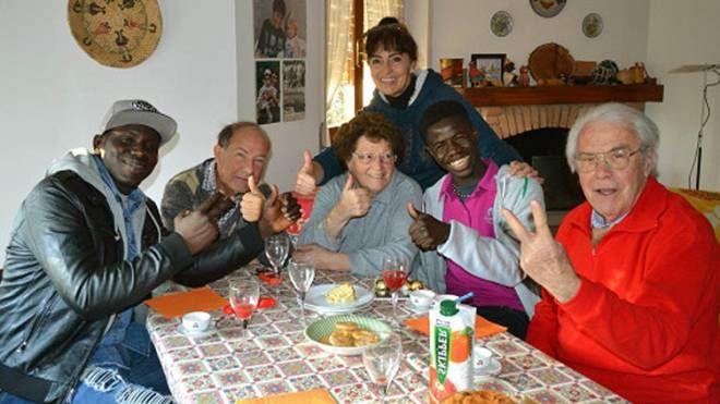 Il pranzo in famiglia