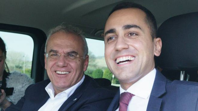 Enrico Bracalente e Luigi Di Maio (Foto Zeppilli)