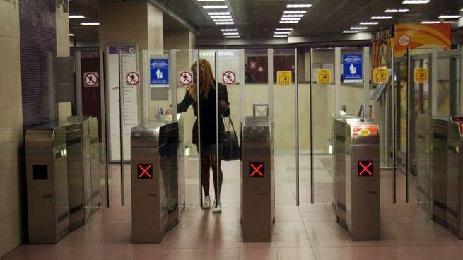 Tornelli della metropolitana