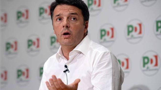 Elezioni 2018, Matteo Renzi presenta le liste del Pd (Lapresse)