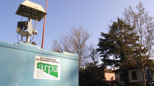 Le centraline Arpa hanno registrato un miglioramento della qualità dell'aria