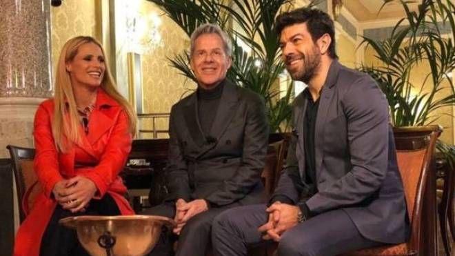 Hunziker con Baglioni e Favino: insieme presenteranno Sanremo