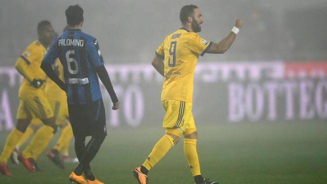 65f5d75abb Atalanta-Juventus 0-1. Higuain e Buffon decisivi in Coppa Italia ...