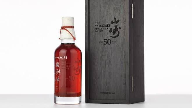La bottiglia battuta all'asta – Foto: Sotheby's Hong Kong
