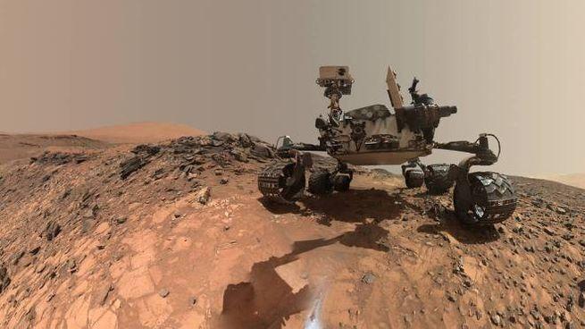 La sonda Curiosity su Marte (Foto: NASA/JPL-Caltech/MSSS)