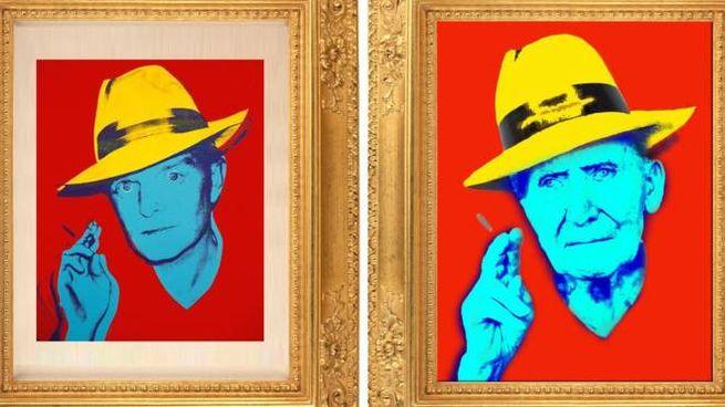 Rivisitazione di un'opera di Andy Warhol
