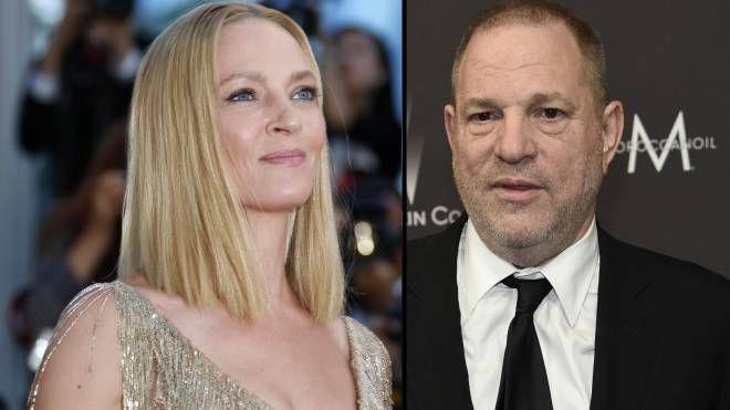 "Uma Thurman accusa il produttore Harvey Weinstein. Lui: ""Querelo"""