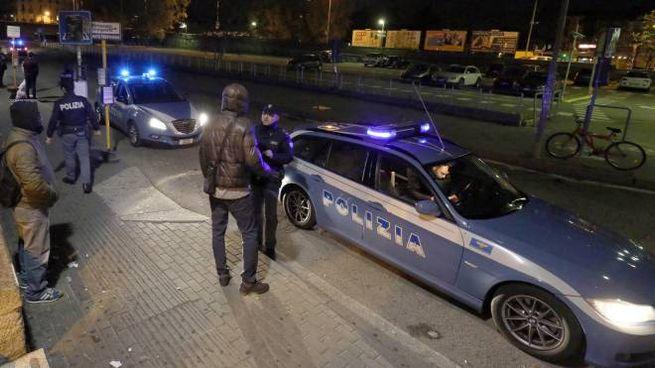 Polizia in stazione a Monza