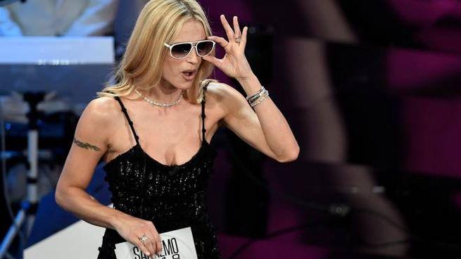 Sanremo 2018, Michelle Hunziker (LaPresse)