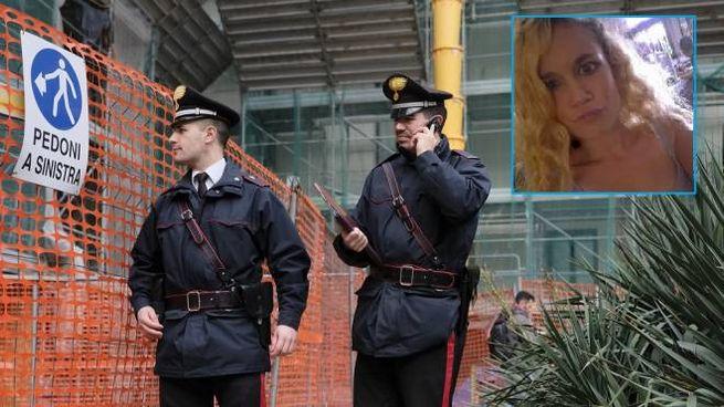 Carabinieri in via Brioschi, nel riquadro la vittima Jessica Valentina Faoro