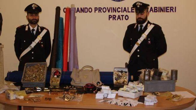 La merce sequestrata dai carabinieri 5b31af9a91c5
