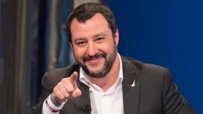 Il leader leghista Matteo Salvini (Imagoeconomica)