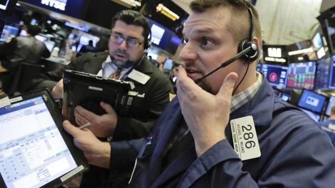 Trader a Wall Street (Ansa)