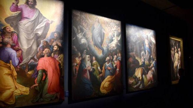 Alcuni capolavori in esposizione (foto Fantini)