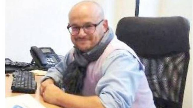 Il coworking manager Giacomo Zucchelli,