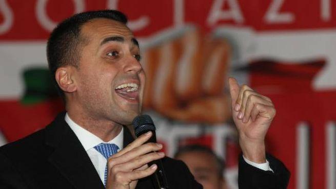 Il candidato premier del M5S Luigi Di Maio (Ansa)