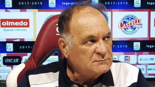 Il tecnico della Reggiana Sergio Eberini