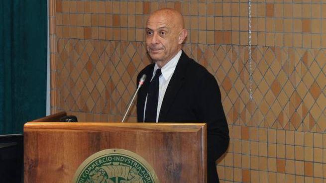Il ministro Marco Minniti alla Camera di commercio