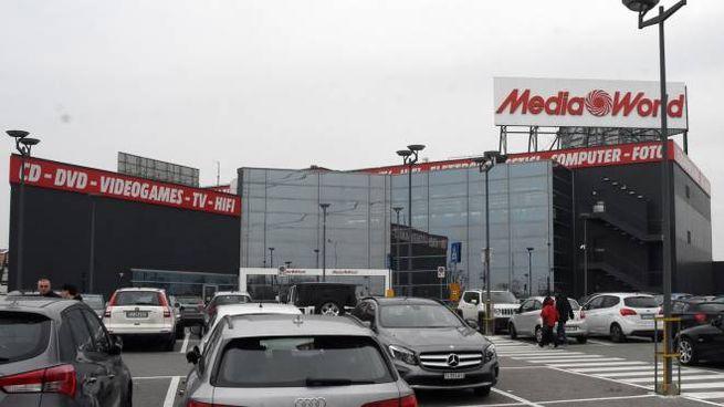 Il punto vendita Mediaworld di Verano Brianza