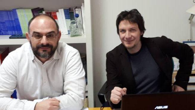 Enrico Calossi (a sinistra) ed Eugenio Pizzimenti