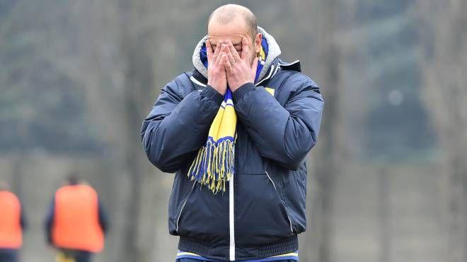 La delusione dell'allenatore Giovanni Livieri
