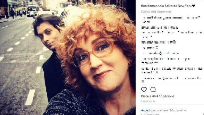 Fiorella Mannoia e Carlo Di Francesco (Instagram/ fiorellamannoia)