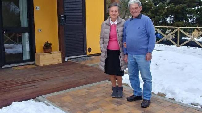 Mario e Maria Pigotti di Muccia