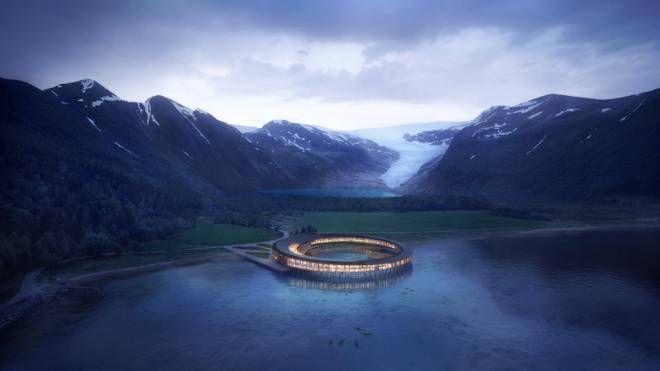Ecco come sarà l'Hotel Svart – Foto: snohetta.com